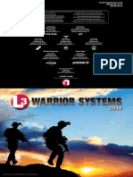 L3 Warrior Systems 2014 ProductGuide 11x17 r2