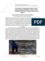 Investigating Groundwater Contamination Using Vertical Electrical Sounding and Physio-Chemical Analysis around Angwan Jukpa Municipal Solid Waste, Minna, North-central, Nigeria