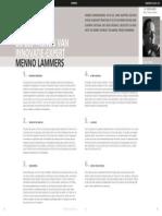De zes trenDs van innovatie-expert Menno Lammers #StedArch