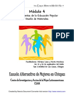 MEMORIA Módulo 4 HERRAMIENTAS DE LA EDUCACION POPULAR 3fase