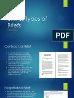 unit 5 types of briefs