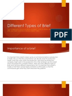 different types of brief final