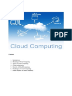 Cloud Computing - Challenges and Future
