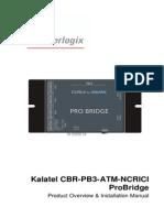 0150 0260A Kalatel CBR PB3 ATM NCRICI Overview and I Manual(1)