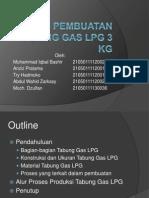 Proses Produksi Tabung Gas LPG