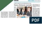 Sicurezza e lavoro, l'Ateneo riferimento nazionale - Il Resto del Carlino del 16 dicembre 2014