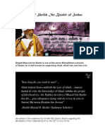 The Story of Sheikh Musaad Ibn Bashir of Sudan