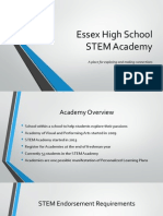 STEM School Board Presentation