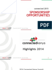 Connected East Africa 2015 Sponsorship Opportunities