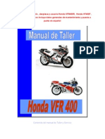 ManualtallerHondaVFR400yVF400