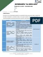 Cronograma de Clases Diseño G. 2do Mes