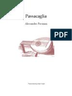 Piccinini Passacaglia