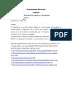 Management Financiar Curs 4