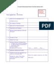 Application Format Of Karnataka Postal Circle Recruitment 2015