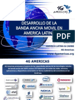 Informe de 4G Americas en Argentina
