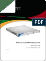 APSVision Admin Guide
