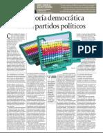 Auditoría democrática de los partidos políticos