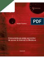 Concurenta Pe Piata Serviciilor de Acces La Internet in Moldova
