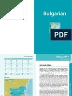 Bulgarian language learning pack
