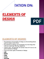 Elements of Design Ppt