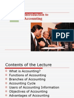 Intro of accounting