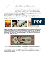 A Long-Term Survival Guide - How to Survive Inflation