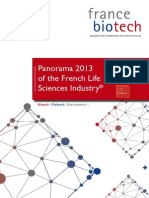 Panorama 2013 of the French Life Sciences Industry®