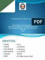 Hemoroid interna Grade IV