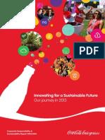 Coca-Cola Corporate Responsibility Report 2013 2014
