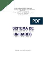 Sistema de Unidades.