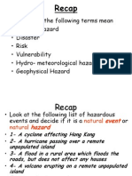 World at Risk 3 Risk and Hazard Trends
