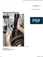 Popular Mechanics - Replacing Shocks
