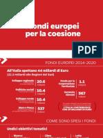 I fondi europei per la coesione