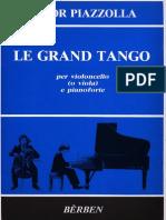 Le Grand Tango - Piano Vc
