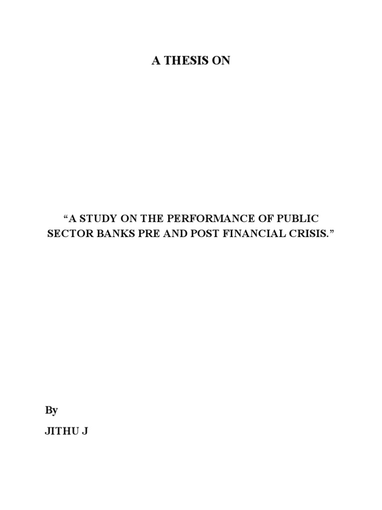 Dissertation on interest rate risk management