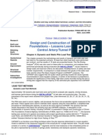 Dynamic and Static Pile Load Test Data Design and Construction of Driven Pile Foundations Lessons Learned on the Central Artery Tunnel