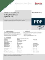 Dynalub Lubricant 510 Eng R0 Safety