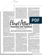 Heart Attack! Prevention and Treatment