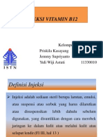 Ppt Injeksi Vitamin b12