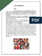 Diversidad en La Minería Desarrollo Humano