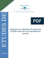 Note Performance Et Compétitivité Des Filières Phares de l'Agroalimentaire