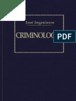 Criminologia (Jose Ingenieros)