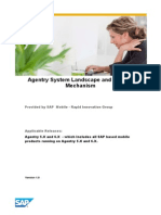 Agentry System Landscape and Publish Mechanism