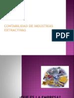 Contabilidad de Industrias Extractivas