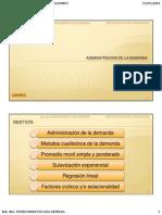 2. Administración de La Demanda