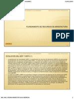 7. Planeamiento de Recursos de Manufactura