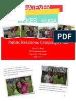 public relations campaign plan