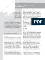 Mihai Et Al (2007) ChD Analysis of Vegetation Cover in Iezer