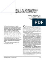 The Factor Structure of The Working Alliance