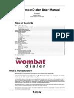 WombatDialer_UserManual_v3